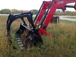 2013 Case IH L775 Loader with grapple