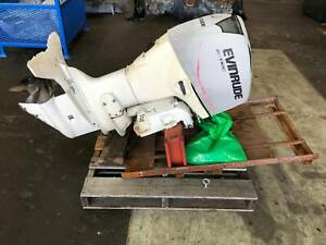 Evinrude E-Tec 90HP Outboard 2 stoke engine