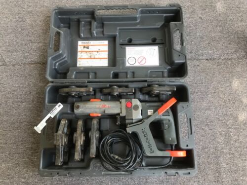Ridgid CT-400 ProPress Crimping Tool with 6 Jaws