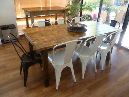 Rustic Industrial Dining Table Rustic Industrial Dining Table