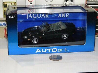 1:43 JAGUAR XKR CABRIO RACING GREEN #53701 AUTO ART DIECAST CAR MODEL
