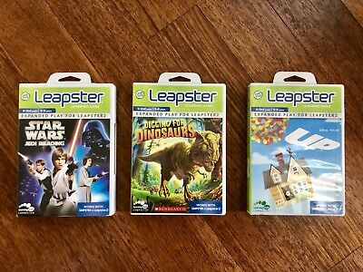 LOT of LEAP FROG LEAPSTER LEARNING GAMES (3 TOTAL) K-2nd Grade 5-8 years old