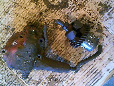 Farmall 504 Utility Tractor Original Ih Engine Motor Governor Assembly Case