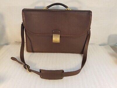 Gorgeous Vintage Coach Combination Briefcase - Chocolate Brown