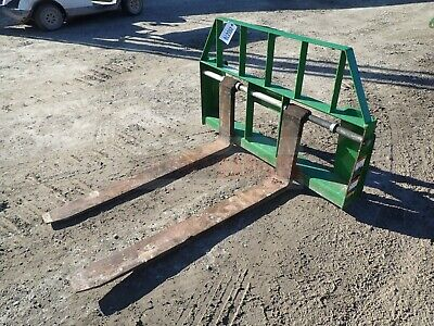 Frontier 48 Pallet Forks For Tractors John Deere Quick Attach 3750 Lb Capacity