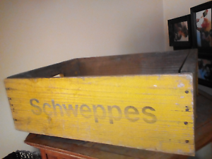 Schweppes original timber crate Fremantle Fremantle Area Preview