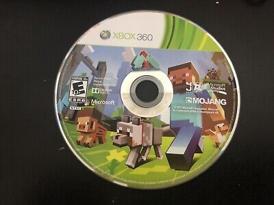 Minecraft (Microsoft Xbox 360, 2013) Tested! Loose Disc