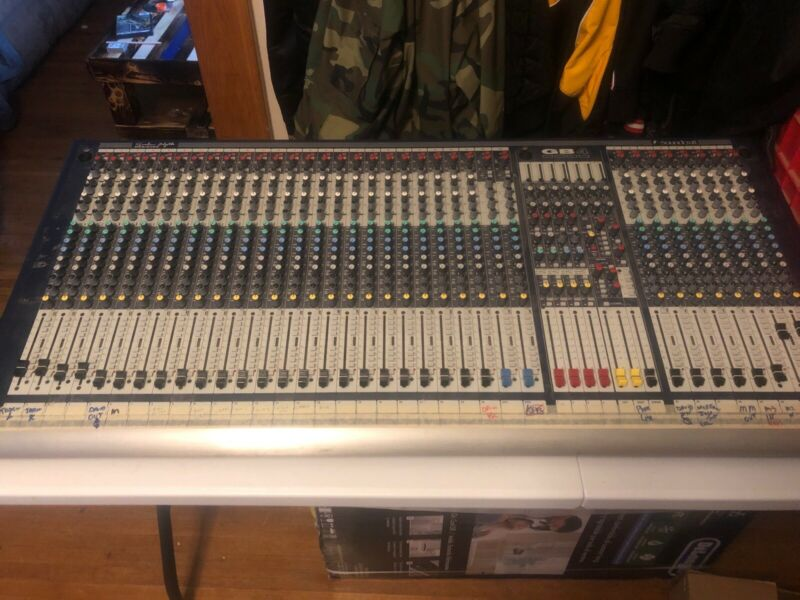 Soundcraft GB4 32-Channel Analog Mixing Mixer Console Studio Live Recording
