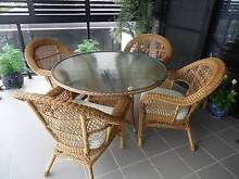 Outdoor Wicker Dining Setting Greenslopes Brisbane South West Preview