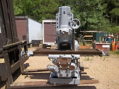 Milwaukee Kearney Trecker Model H Vertical Milling Machine Mill Kt