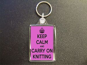 KEEP-CALM-AND-CARRY-ON-KNITTING-KEYRING-GIFT-BAG-TAG-BIRTHDAY-GIFT