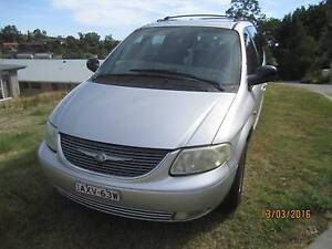 2002 Chrysler Grand Voyager Wagon Newcastle Newcastle Area Preview
