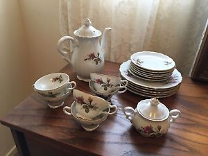 Turkish floral Teapot Set
