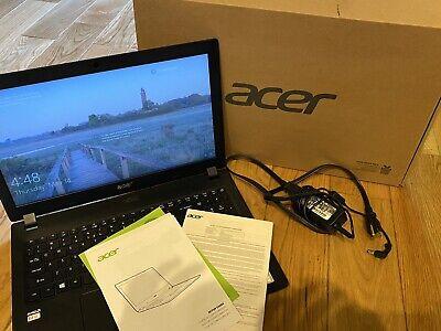 "Acer Aspire 3 A315-21-2476 15.6"" AMD E2 Dual Core Notebook Laptop Black Workbook"