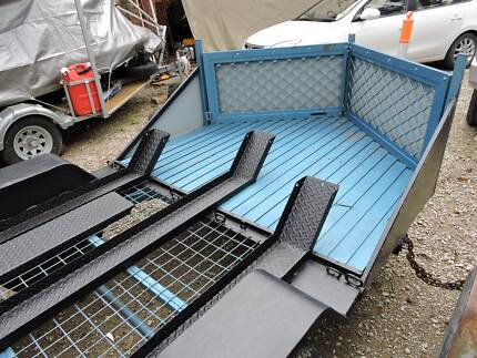 Custom Motorcycle Trailer For Sale Seville Yarra Ranges Preview
