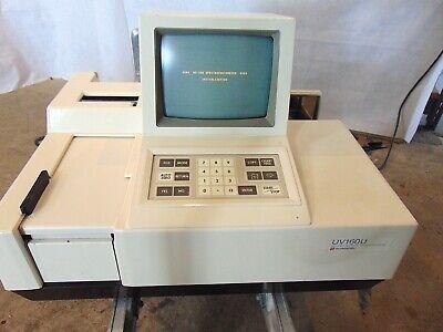 Shimadzu Uv160u Uv-visible Recording Spectrophotometer S5677