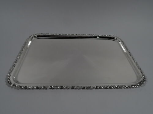 Gorham Tray - A1985 - Antique Edwardian Rectangular - American Sterling Silver