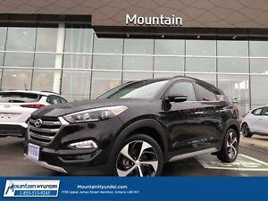 2017 Hyundai Tucson 1.6T Ultimate | LEATHER | SUNROOF | NAVIGATI
