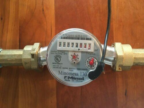 Minol, Minomess 130, residential water flow meter
