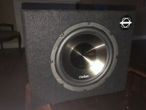 "Clarion 10"" subwoofer"