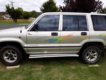 1997 Holden Jackaroo 4x4