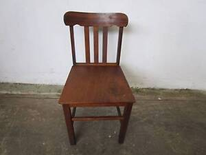 C37057 Vintage Oak TH BROWN Kitchen Dining Chair Unley Unley Area Preview