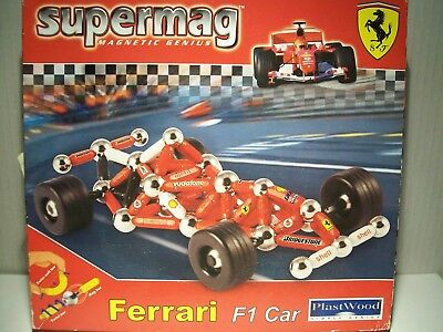 Supermag 0173 Ferrari Formel 1 - Magnetbaukasten Neu + OVP
