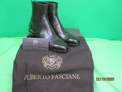 ALBERTO FASCIANI RUSTICO REAR ZIP ANKLE BOOT - QUEEN 39027 SIZE 7.5 NIB