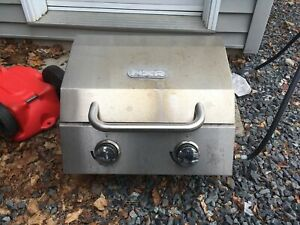 Portable stainless bbq