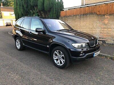 2005 55 BMW X5 3.0D SE EXCLUSIVE - BLACK - IVORY LEATHERS - SAT NAV - PAN ROOF