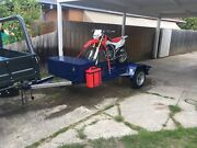 Heavy duty motorbike trailer Wantirna South Knox Area Preview