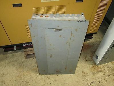 Square D Circuit Breaker Panel Nqod442l225 E2 225a 42-slot Used