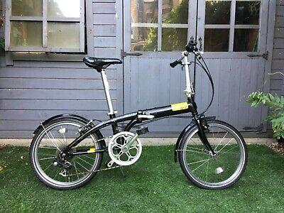 tern folding bike black/ yellow