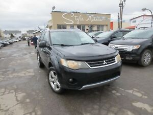 2008 Mitsubishi Outlander XLS 7 PASSAGERS AWD CUIR TOIT