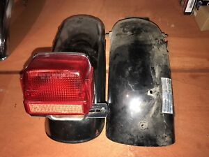 Suzuki gs rear fender and tail light