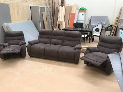 Recliner and couch set
