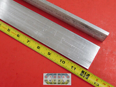 2 Pieces 14 X 2 Aluminum 6061 Flat Bar 12 Long T6511 Solid Mill Stock