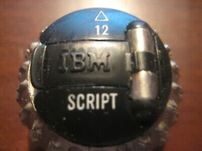 Ibm Element Script 12 Pitch For Selectric I Ii