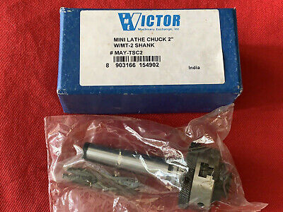 Victor Mini Lathe Chuck 2 Wmt-2 Shank May-tsc2