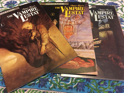 Anne Rice's Vampire Lestat Graphic Novel complete collection