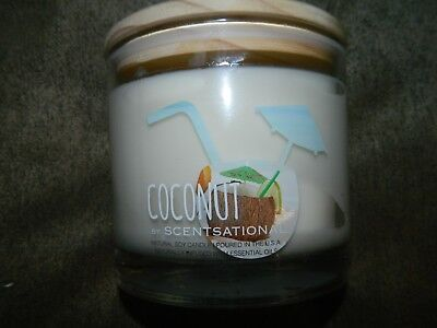 - SCENTSATIONAL COCONUT Scented Soy Candle 26 OZ Glass Jar Candle