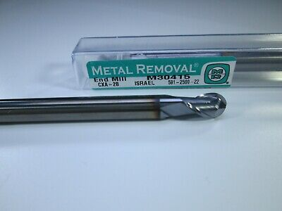 Metal Removal Solid Carbide End Mill 14 X 4 Long Length Aluminum Milling Bit