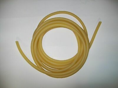 10 Feet 18 I.d X 132 Wall Surgical Latex Rubber Tubing Amber