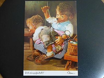 """Postkarte AK Mecki Nr. 306    """"  Gut eingefädelt  *"""