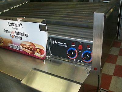 Star Max Pro Hot Dog Roller 2 Thermostats 115volts 50 Counts900 Items More
