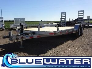 "2018 Bluewater ED 5"" Channel Car-Hauler 7,000 Lb - 83 x 18'!"