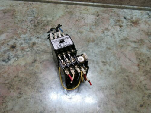 TOSHIBA MAGNETIC CONTACTOR OVERLOAD RELAY TYPE C-10F OF JEM 1356-S BS R-11