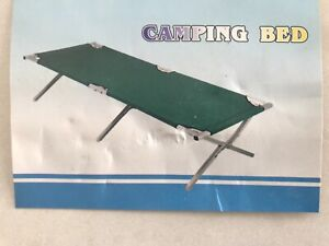Diamantina Stretcher Style Camping Bed Single