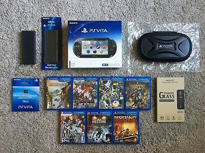 Sony PlayStation Vita Wifi PS Vita 2000 Bundle + 7 PS Vita Games (Brand New)