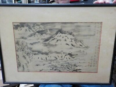 """Mountains in Snow"" by Seifutsuda 1880-1978"